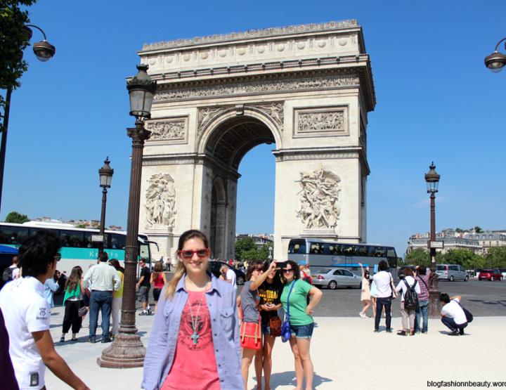Champs Élysées y Arco del Triunfo - #París Día 3