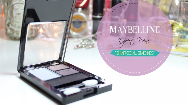 "MAYBELLINE Expert Wear ""Charcoal Smokes"""