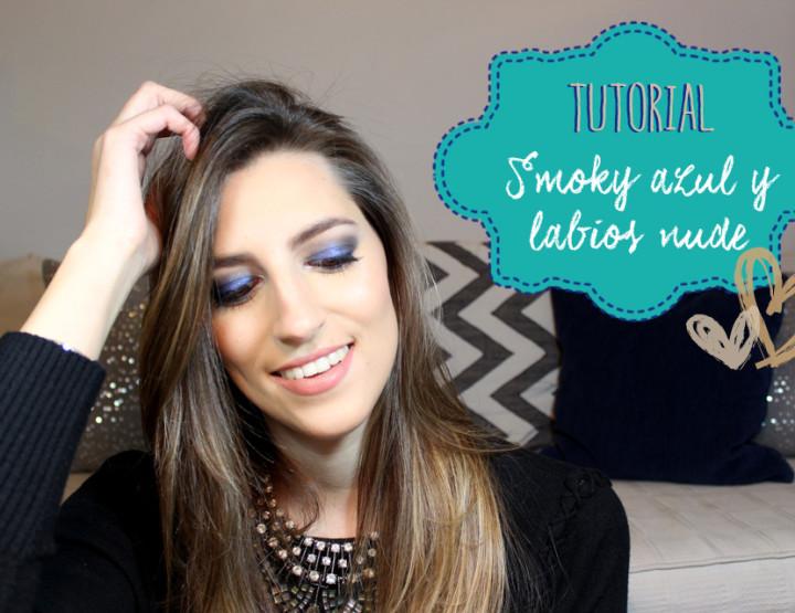 Smoky Azul y Labios Nude - I'm Karenina TV