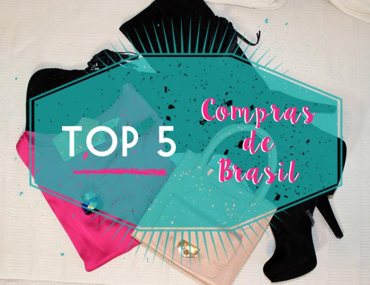 TOP 5 Compras de Brasil - I'm Karenina TV