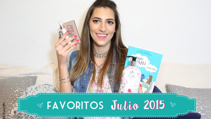 Favoritos Julio 2015 – I'm Karenina TV