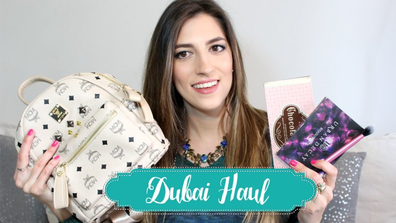 DUBAI HAUL: Fashion + Beauty – I'M KARENINA TV