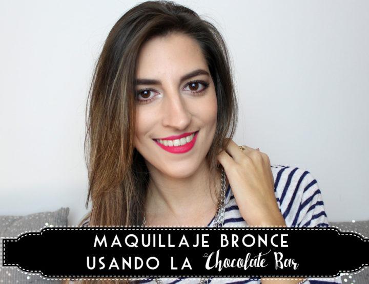 Maquillaje Bronce usando la Chocolate Bar - I'm Karenina TV
