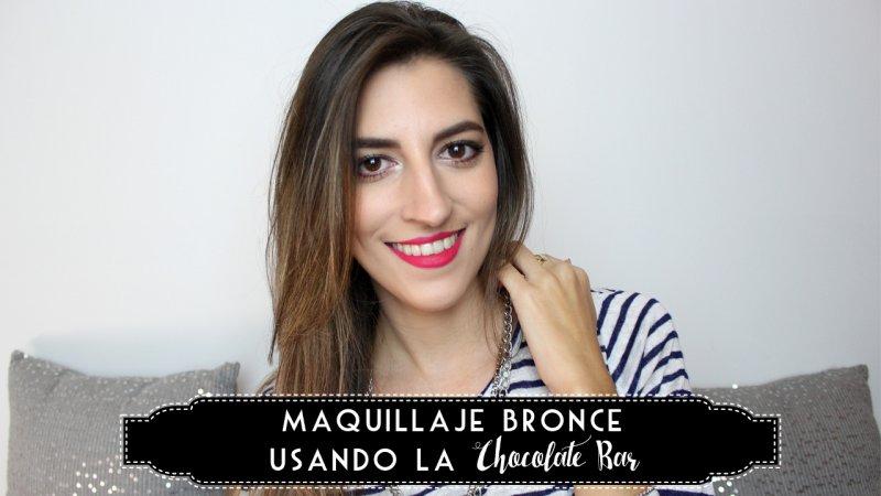Maquillaje Bronce usando la Chocolate Bar – I'm Karenina TV