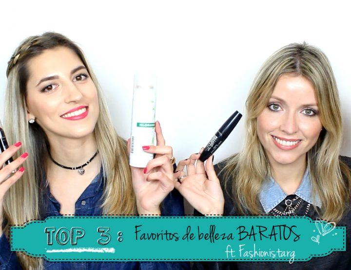 TOP 3: Favoritos BARATOS ft. Fashionistarg - I'm Karenina TV