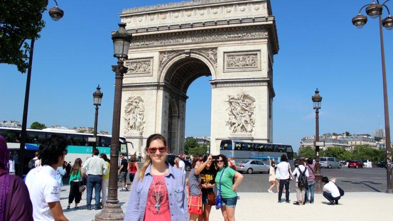 Champs Élysées y Arco del Triunfo – #París Día 3