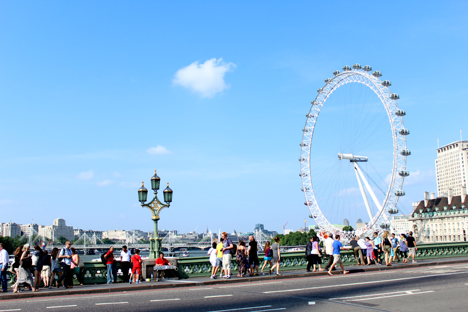 Buckingham Palace, Westminster Abbey y Big Ben - #Londres