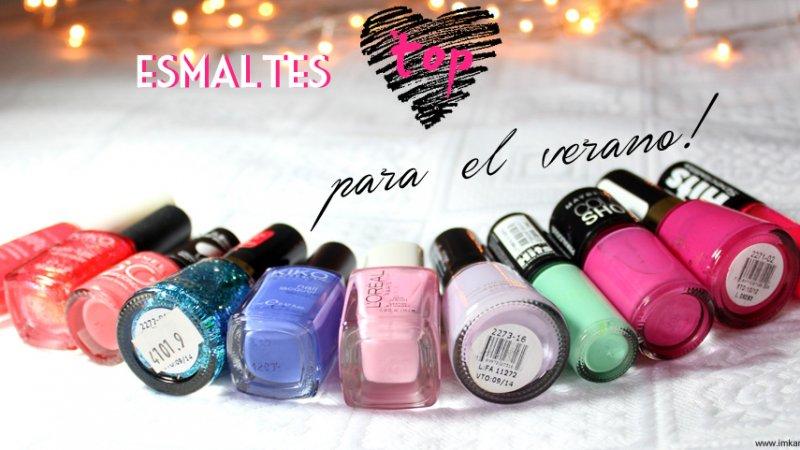 Especial Verano: Esmaltes Coloridos