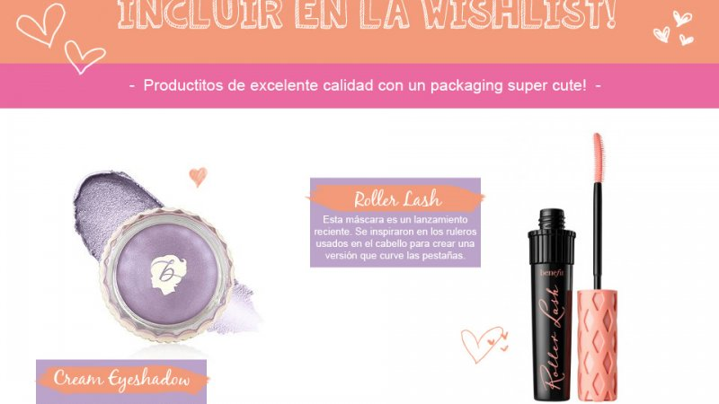 5 productos de BENEFIT para anotar en la Wishlist! ♥