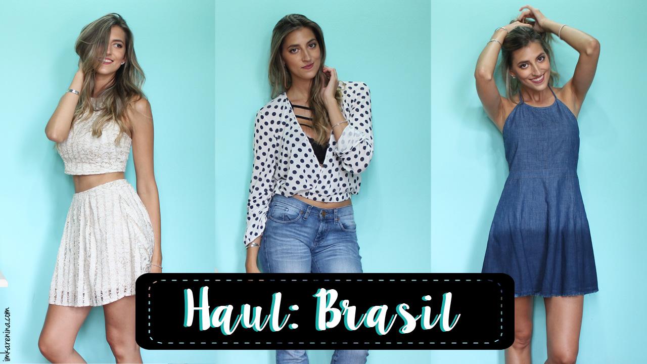 Haul: BRASIL 2016 - I'm Karenina TV